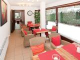 Kleiner Wintergarten in HEIDEs Hotel-Pension