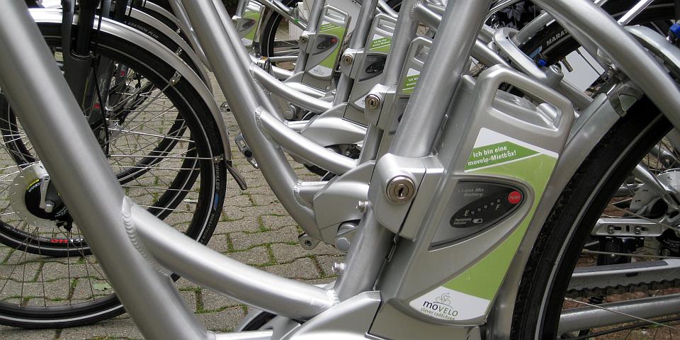 INTENSIV E-BIKEN mit einem movelo Flyer E-Bike © Petra Hitz-Bergmann