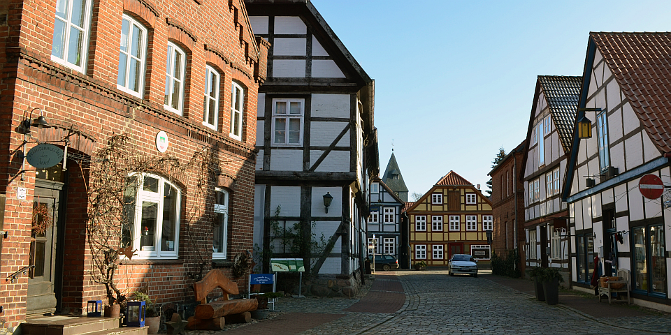 Hitzacker an der Elbe - kleine Inselstadt mit Charme  Petra Hitz-Bergmann
