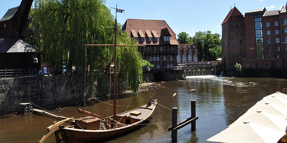 Wasserviertel von Lüneburg  Lüneburg Marketing GmbH