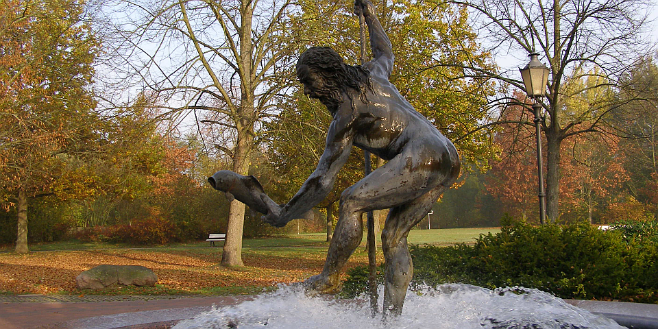 Neptunbrunnen in Bad Bevensen Petra Hitz-Bergmann