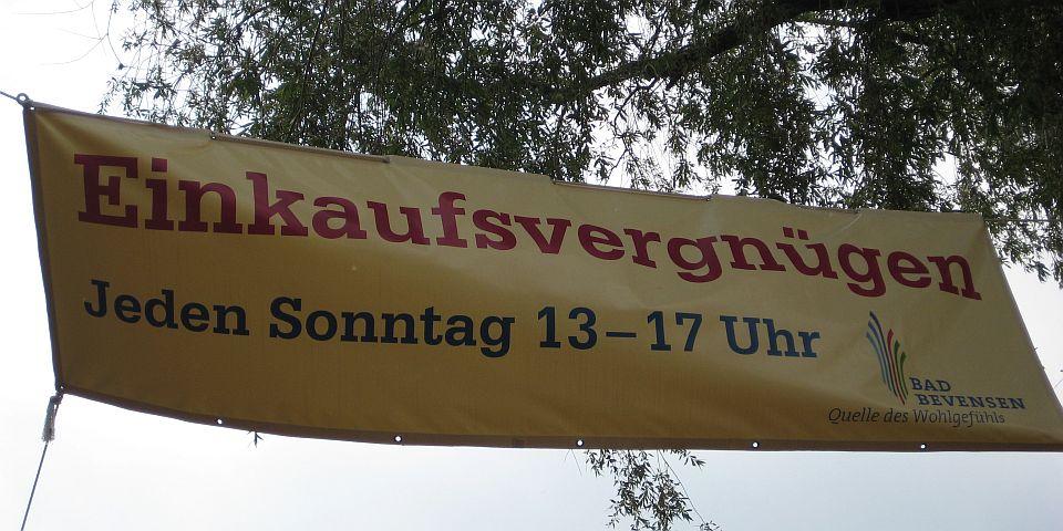 Verkaufsoffene Sonntage in Bad Bevensen  © Petra Hitz-Bergmann